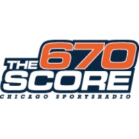Logo de la radio WSCR The Score 670 AM