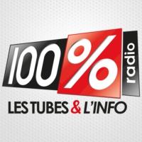 Logo de la radio 100%