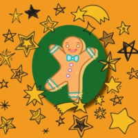 Logo of radio station Gingerbread