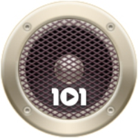 Logo of radio station 101.ru - Madonna