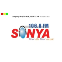 Logo of radio station 106.6 Sonya FM