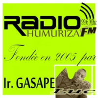 Logo of radio station Humuriza FM