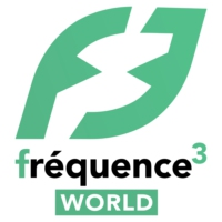 Logo of radio station Fréquence 3 World