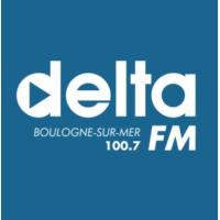 Logo of radio station Delta FM Boulogne sur mer