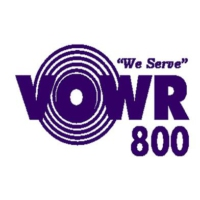 Logo of radio station VOWR 800 AM Radio