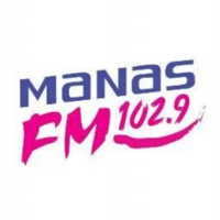 Logo de la radio Manas FM