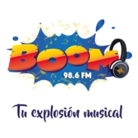 Logo of radio station Boom FM 98.6