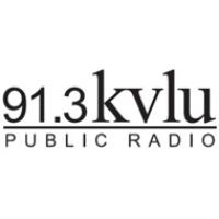 Logo of radio station KVLU NPR 91.3 FM