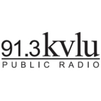 Logo of radio station KVLU NPR 91.3 FM