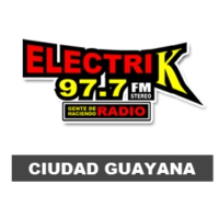 Logo of radio station Electrik 97.7 FM
