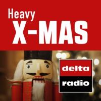 Logo of radio station delta radio HEAVY X-MAS