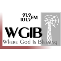 Logo of radio station WGIB 91.1 FM