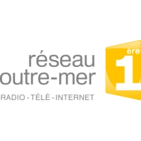 Logo of radio station RFO Reunion la 1ère