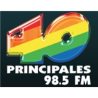 Logo of radio station Los 40 Principales (Xalapa)