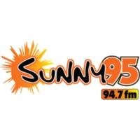 Logo of radio station WSNY Sunny 95