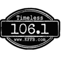 Logo of radio station KFFB 106.1 FM