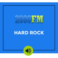 Logo de la radio 2000 Fm - Hard Rock