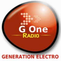 Logo of radio station G One Radio