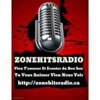 Logo of radio station Zonehitsradio.ca