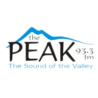 Logo of radio station 93.3 The Peak