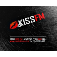 Logo of radio station Kiss FM Serbia