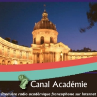 Logo of radio station Canal Académie