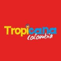 Logo of radio station Tropicana Colombia