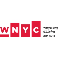 Logo of radio station WNYC AM 820
