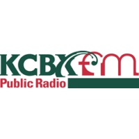 Logo of radio station KCBX NPR