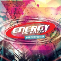 Logo of radio station Energy 106 Belfast