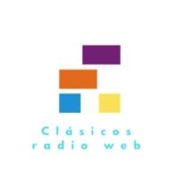 Logo of radio station Clásicos radio web