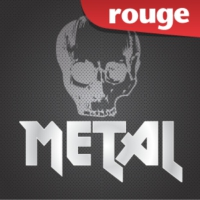 Logo of radio station Rouge FM Metal