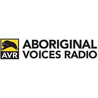 Logo of radio station CKAV Aboriginal Voices Radio