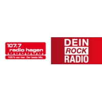 Logo of radio station 107.7 Radio Hagen - Dein Rock Radio