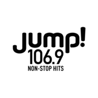 Logo of radio station CKQB-FM JUMP! 106.9