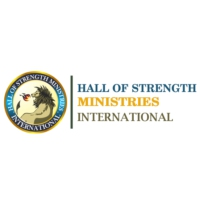 Logo of radio station Hall of Strength Ministries International