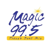Logo of radio station KMGA Big 98.5