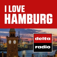 Logo of radio station delta radio I LOVE HAMBURG