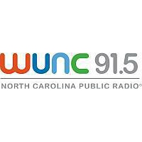 Logo of radio station WUNC NPR 91.5