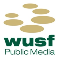 Logo of radio station WUSF 89.7