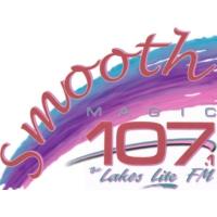 Logo of radio station KMGK Smooth Magic 107.1