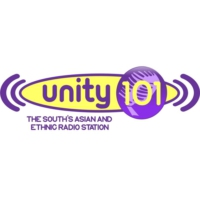 Logo of radio station Unity 101 FM