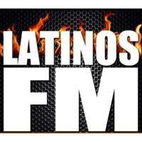 Logo of radio station Latinos FM