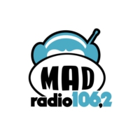 Logo of radio station Mad Radio 106.2