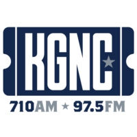 Logo of radio station KGNC 710 AM