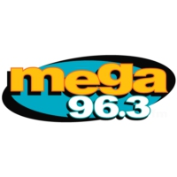 Logo of radio station KXOL Mega 96.3 FM