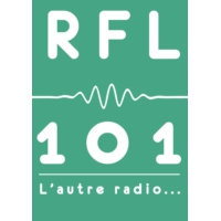Logo of radio station RFL 101