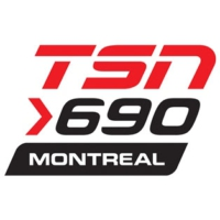 Logo of radio station TSN 690 Montreal