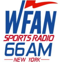 Logo de la radio WFAN-AM  CBS Radio [660 THE FAN]