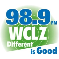 Logo of radio station WCLZ 98.9